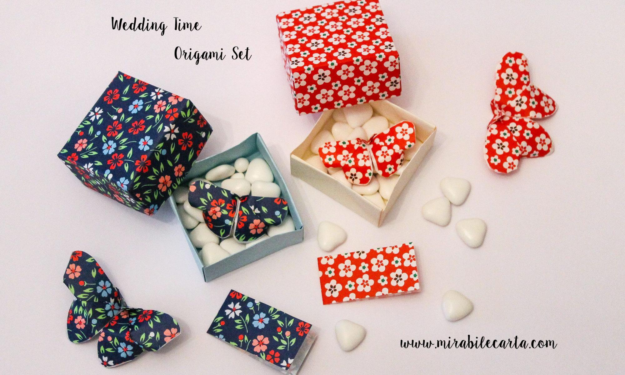 Matrimonio Tema Origami : Origami pack per matrimonio mirabile carta